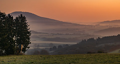 my valley (Woewwesch) Tags: outdoor sunrise vallley ahrtal eifel germany walking colors interesting landscape spny sonyalpha ilce6000 pastures hills trees reflecting morning morningwalk