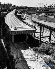 The Seattle Viaduct  Deconstruction In Monochrome Tones (AvgeekJoe) Tags: 1835mmf18dchsm d7500 dslr nikon nikond7500 sigma1835mmf18 sigma1835mmf18dchsmart sigma1835mmf18dchsmartfornikon sigmaartlens
