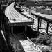 The Seattle Viaduct  Deconstruction In Monochrome Tones