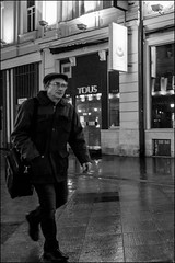 5_DSC4809 (dmitryzhkov) Tags: urban city everyday public place outdoor life human social stranger documentary photojournalism candid street dmitryryzhkov moscow russia streetphotography people man mankind humanity bw blackandwhite monochrome snow snowfall badweather night lowlight