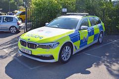 GX18 AOE (Emergency_Vehicles) Tags: cx18aoe surrey police road policing gx18aoe