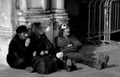 Carnevale (pjarc) Tags: europe europa italia italy veneto venetian venezia venice venedig carnevale carnival persone peoples foto photo bw black white bianconero nikon dx 2019