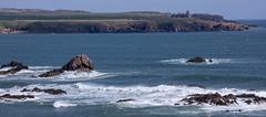 Slains (PeskyMesky) Tags: aberdeenshire slainscastle crudenbay winnyfold landscape panorama seascape water sea ocean castle canon canon5d eos