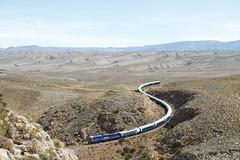 Iron snake (Delff DUMONT von WALTHER.u.CRONECK) Tags: train railway emd jt26 photo eisenbahn perurail peru rail canyon desert eisenbahnbilder railways south america locomotive freighttrain perou