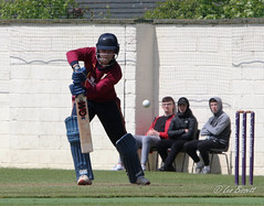 20/52 Thats gone for a 4 (Leo Bissett) Tags: cricket sport rush kenure ball stumps crease four