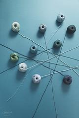 a good yarn... (CatMacBride) Tags: yarn thread cotton teal
