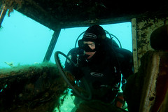 NDAC Chepstow (pkh100) Tags: ndac scuba quarry chepstow diving landrover
