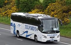 X7TCL  Telfords, Newcastleton (highlandreiver) Tags: x7tcl x7 tcl telfords coaches newcastleton vdl futura 2 bus coach m6 wreay carlisle cumbria