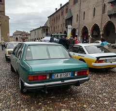 1980 Opel Rekord E1 2.0S (Giulio Pedrana - La Tenaglia Impazzita) Tags: opelfans opel vintagecars raduniautostoriche mantova