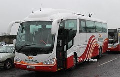 Bus Eireann SP94 (08D15588). (Fred Dean Jnr) Tags: buseireannbroadstonedepot buseireann broadstone scania k144 irizar pb sp94 08d15588 broadstonedepotdublin february2013 dublin