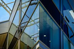 Reflections in the Edifice of Rosebank Mall (Raphael de Kadt) Tags: abstract architecture johannesburg gauteng africa modern reflections glass edifice