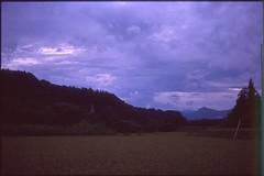 (✞bens▲n) Tags: contax g2 kodak e200 carl zeiss 45mm f2 film slide japan fields mountains ektachrome 200