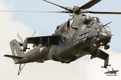 Mil Mi-24P / 332 (Gyula Rácz / Spawn / HTKA.hu) Tags: helicopter army airforce hungary budaörs magyarhonvédség hungarian mil mi24 airbus h145m