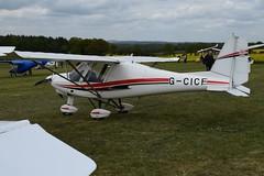 G-CICF Ikarus Comco C-42 (graham19492000) Tags: pophamairfield gcicf ikarus comco c42
