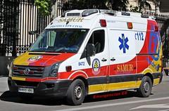SAMUR-PC (emergenciases) Tags: emergencias españa 112 vehículo madrid samurpc sanitarios urgencias urgenciassanitarias ambulance ambulancia stilconversion volkswagen crafter soportevitalbásico