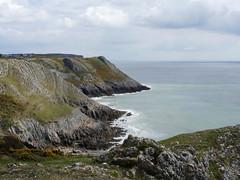 Cliffs .. (yvonnepay615) Tags: panasonic lumix gh4 nature nt nationaltrust cliffs pennard southgate swansea wales uk platinumheartaward