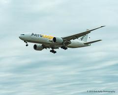 AeroLogic, D-AALI, B772 (Bob from Caledon) Tags: aerologic b777f b77l cyyz daali torontopearsoninternationalairport aeroplanes aircraft airplanes arrivals runway05