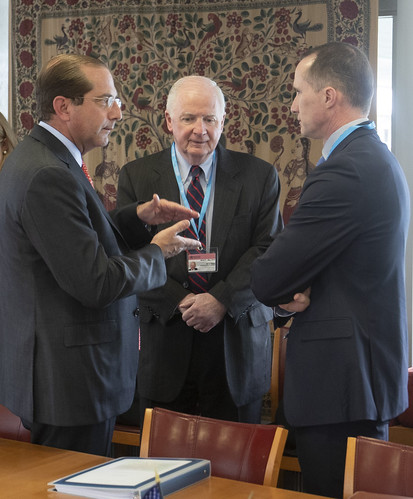 HHS Secretary Azar Heads U.S. Delegation to the WHA
