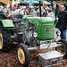 Vintage farm tractor by Steyr