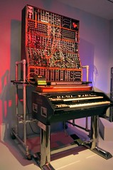 Keith Emerson Synthesizer (edenpictures) Tags: playitloud instrumentsofrockroll metropolitanmuseumofart themet exhibit exhibition show emersonlakepalmer synthesizer moog musicalinstrument