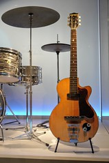 George Harrison's First Electric (edenpictures) Tags: playitloud instrumentsofrockroll metropolitanmuseumofart themet exhibit exhibition show guitar thebeatles musicalinstrument