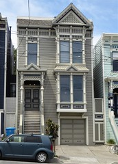 San Francisco, CA, Noe Valley, Gray Victorian Residence (Mary Warren 13.5+ Million Views) Tags: sanfranciscoca noevalley architecture building house residence victorian