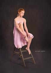 The Ballerina... (Allan James Fisher) Tags: ballet ballerina black pink nikon dance beautiful girl redhead