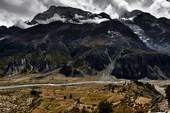 Annapurna III (7.555m) & Gangapurna (7,455 m) (YogiMik) Tags: annapurnaiii7555mgangapurna7 455myogimik himalaya nepal annapurna mountains summits clouds monsoon snow caps travel adventure trekking discovery autumn amazing majestic awesome topic