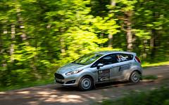#64 Dickinson-Morey 2017 FordFiesta-1 (rickstratman26) Tags: car cars rallycar racecar racecars ford fiesta rally motorsport motorsports southern ohio forest sofr panning