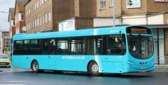 Arriva The Shires 3889 BG59FWP with a terminating 301 service in Hemel Hempstead. (Gobbiner) Tags: arrivabuscouk arrivatheshires wrightbus bg59fwp hemelhempstead 3889 eclipseurban2 b7rle volvo