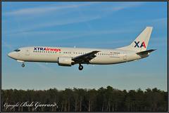 N353AS Xtra Airways (Bob Garrard) Tags: n353as xtra airways boeing 737 bwi kbwi
