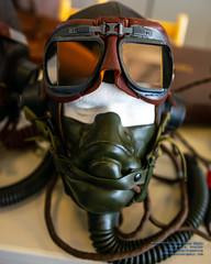 A US Army Air Corps Pilot's Headgear (AvgeekJoe) Tags: 1835mmf18dchsm d5300 dslr nikon nikond5300 sigma1835mmf18 sigma1835mmf18dchsmart sigma1835mmf18dchsmartfornikon sigmaartlens