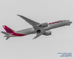 COLORFUL AVIANCA LIVERY ON A RISING BOEING 787-9 (AvgeekJoe) Tags: 100400mmf563 787 787dreamliner 7879 avianca b789 boeing787 boeing787dreamliner boeing7879 boeing7879dreamliner d7500 dslr dreamliner jetliners n797av nikon nikond7500 selectivedesaturation sigma sigma100400mmf563 sigma100400mmf563dgoshsmcontemporary aircraft airplane aviation jetliner photoshopadjusted plane telephotolens