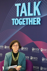 2019 OECD Forum: Camilla Stoltenberg, Director-General, Norwegian Institute of Public Health; Head, Norwegian National Commission on Gender Equality in EducationWith ** Francesca Borgonovi, Senior Analyst, Policy Advice and Implementation, Directorate fo (Organisation for Economic Co-operation and Develop) Tags: oecd ocde forum 2019 paris talktogether camillastoltenberg directorgeneral norwegianinstituteofpublichealthhead norwegiannationalcommissionongenderequalityineducationwi senioranalyst policyadviceandimplementation directorateforeducationandskills france norwegian national commission gender equality education with francesca borgonovi