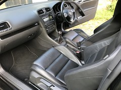 Mk6 VW Golf GTI Interior (Marc Sayce) Tags: vienna leather interior seats front rhd dash vw golf gti mk6 mk 6 vi volkswagen 2009 2010 2011 2012 r r20 gtd deep black notrealtags bikini speedo topless naked nude milf pantyhose stockings