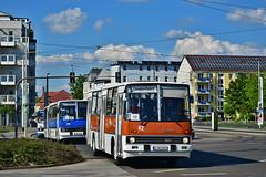 Ikarus 260.02 #82 Straßenbahnmuseum_Chemnitz Cottbus (3x105Na) Tags: deutschland germany niemcy ikarus 26002 82 strasenbahnmuseumchemnitz cottbus bus autobus zlot ikarustreffen ikarustreffen2019