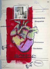 C (Regina Marcis) Tags: coração pintura com giz pastel fotografia antiga carimbos