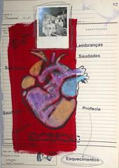 F (Regina Marcis) Tags: coração pintura com giz pastel fotografia antiga carimbos