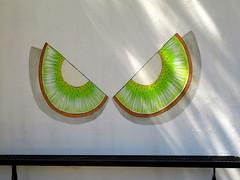 Kiwi Eyes (Vicki LW) Tags: claremont kiwi eyes mural face odc ourdailychallenge facesinthings kiwifruit msh05192 msh0519