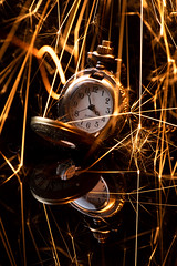 time travel (englishgolfer) Tags: time watch sparkler reflection nikon d7500 nissin di700a