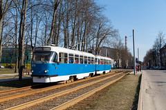 Gruß aus Schwerin (trainspotter64) Tags: strasenbahn streetcar tram tramway tranvia tramvaj tramwaje satiksme latvia lettland daugavpils čkd tatra t3