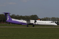 G-JECP AMS 24.04.2019 (Benjamin Schudel) Tags: flybe bombardier dash8 gjecp ams amsterdam international airport netherlands