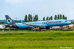 [ORY] La Compagnie Airbus A321neo _ F-HBUZ (thibou1) Tags: thierrybourgain ory lfpo orly spotting aircraft airplane nikon d810 tamron sigma landing fhbuz airbus airbusa321 a321neo a321 lacompagnie newyork newark