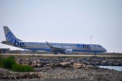 G-FBEM (mduthet) Tags: gfbem embraer erj195 flybe aéroportdenicecôtedazur