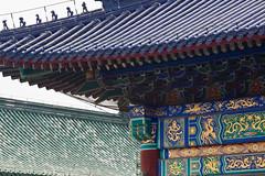 Temple of Heaven, Beijing, China (Miche & Jon Rousell) Tags: china beijing templeofheaven qinianhall temple beams blue green gold phoenix
