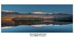 Sierra de Guadarrama (Ignacio Ferre) Tags: sierradeguadarrama embalsedelpontónalto sanildefonso segovia españa spain paisaje landscape naturaleza nature nikon reflejo reflection
