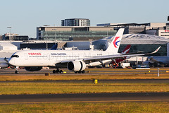 China Eastern Airbus A350-941 B-305X (Mark Harris photography) Tags: spotting yssy sydney aviation canon 5d