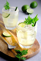 DRINK (Giovanni Contarelli) Tags: bicchiere cocktail lime longdrink freshness mint leaf culinary drink fruit food mojito drinking glass ice citrus green color juice slice lemon table alcohol rum refreshment everypixel