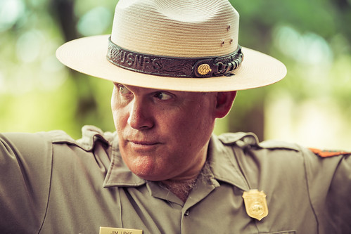Ranger Jim at Stones River National Battlefield