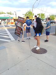 ITA_IDC_SHA_UMDWalksmartRt1_051719_05 (Idle Time Ads) Tags: streetteam publicoutreach itapromotions idletimeadvertising maryland washington dc virginia pedestriansafety collegeparkwalksmart universityofmaryland sha mdot